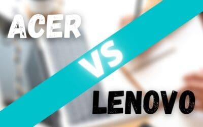 Acer vs Lenovo